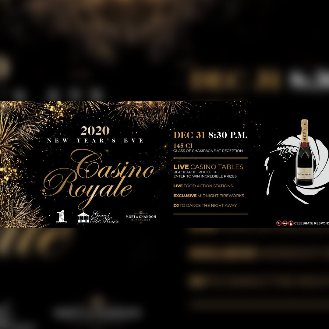 New Years Eve - Casino Royal at Grand Old House