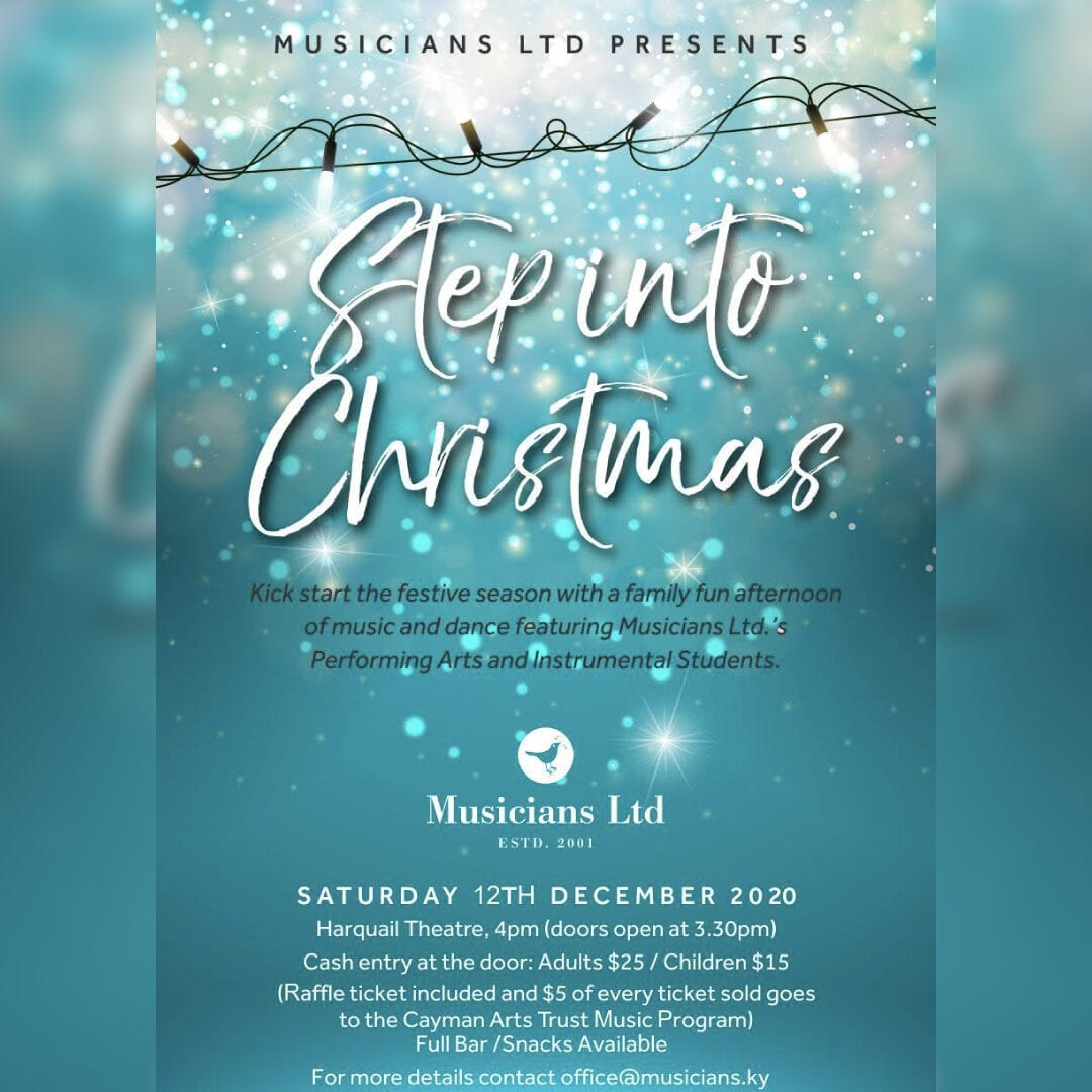 Step Into Christmas with Musicians Ltd