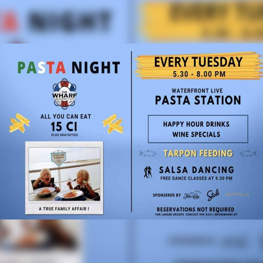 Pasta Night at The Wharf