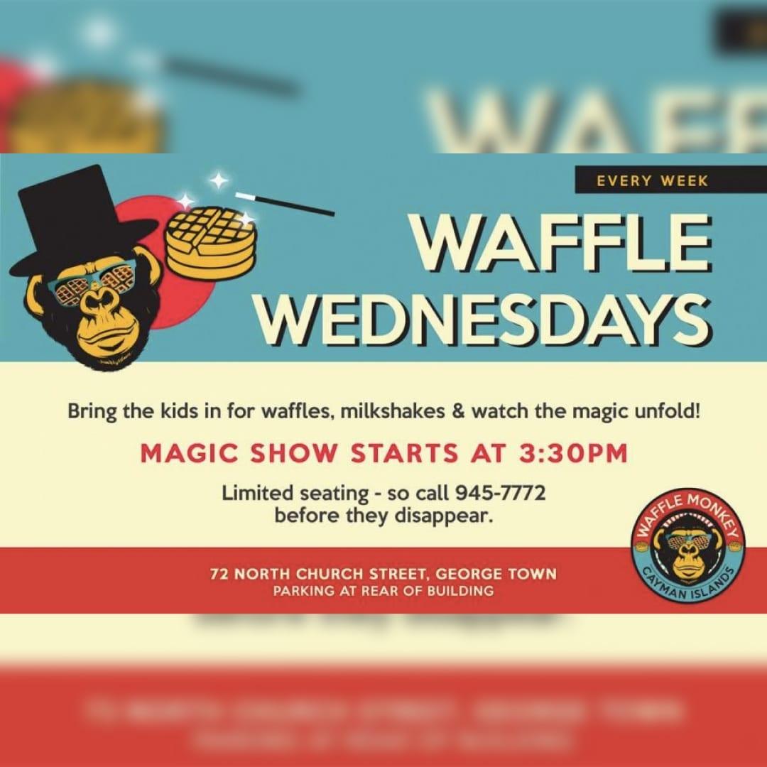 Waffle Wednesdays Magic Show