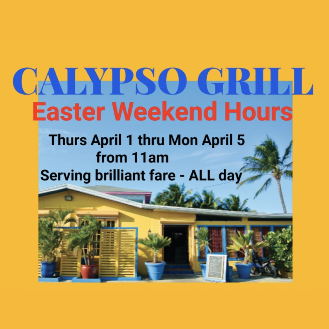 Calypso Grill Easter Weekend Specials