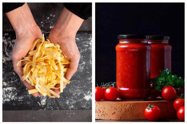 Pane & Pasta (retail) Handmade Pastas and Pasta Sauces Combo for $31.99
