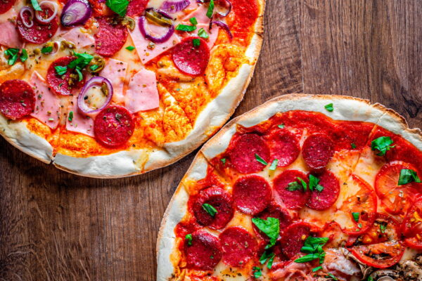 Buy 2 Pizzas from Pane & Pasta for $21.99!