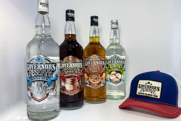 4 bottles of Governor's Reserve Rum and get FREE hat