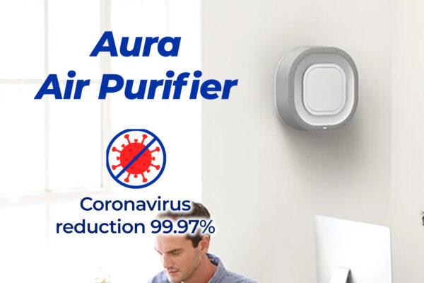 Aura Air Purifier (Coronavirus reduction 99.97%)