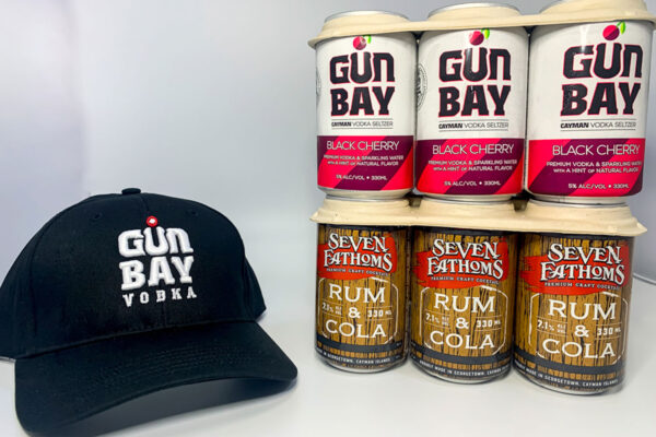 Seven Fathoms Rum & Cola OR Gun Bay Vodka Seltzers COMBO